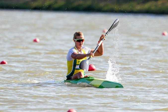 TALENTED: Alyssa Bull is a rising force on the kayaking scene.
