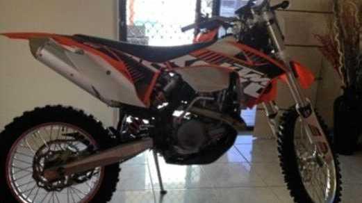 Motorbike stolen during a burglary in West Mackay