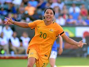 Matildas waltz home in win over Brazil