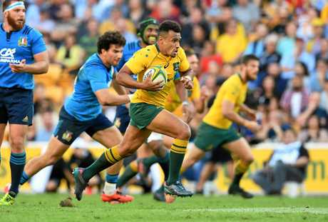 Will Genia in action for the Wallabies in June.