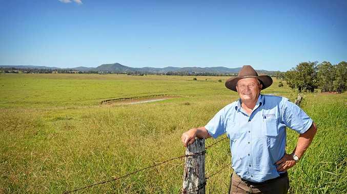 TOP HERD: John Cochrane was the auctioneer at the dairy sale at Nanango last week.