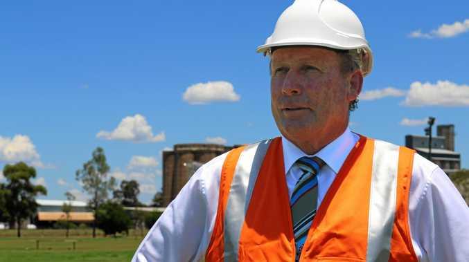 ALL SYSTEMS GO: WDRC Mayor Paul McVeigh has announced a 1000MW solar plant will be built near Wandoan.