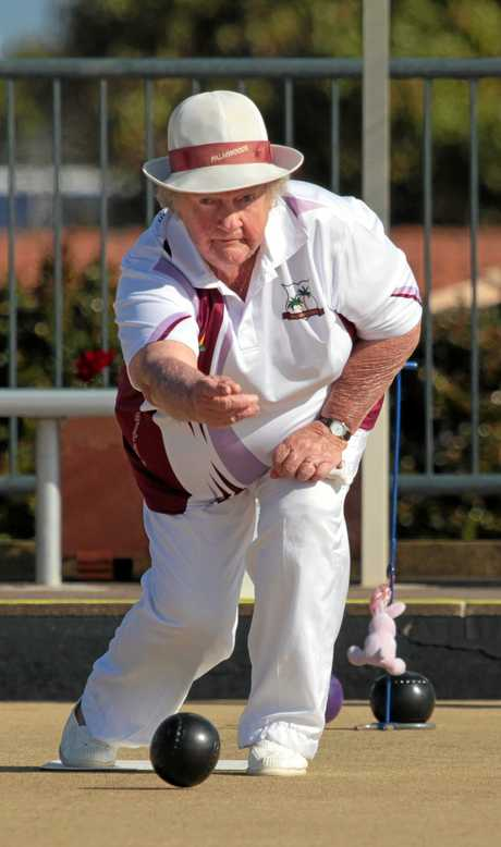 Lorna Hardingham, from Palmwoods Bowls Club, reached high levels of excellence.