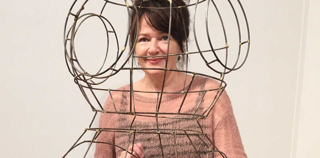 Meaghan Shelton has woven themes of handicraft, femininity and tradition into her new show 'Intricate Infinite' at the Gympie Regional Gallery.