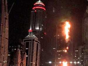 Terror at 1100ft: Flames engulf Dubai's 'Torch Tower'