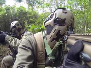 SAS soldiers trial Star Wars style bullet proof helmets
