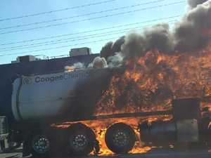 TANKER FIRE: Tolls waived as traffic delays build on M1