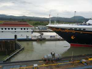Engineering marvel on show in Panama Canal