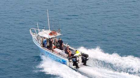 A1 Fishing Charter was damaged and passangers injured after colliding with a whale
