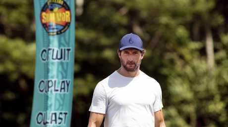 Jonathan LaPaglia in a scene from Australian Survivor.