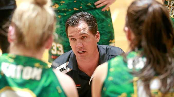 Ipswich Force women's QBL coach Brad George.