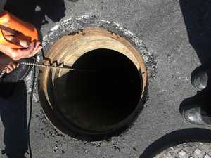 Desperate rescue of pet trapped 12ft underground