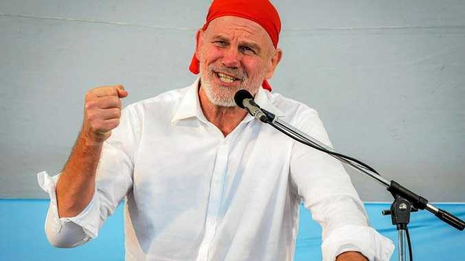 Peter FitzSimons at the 2017 Byron Bay Writers Festival.