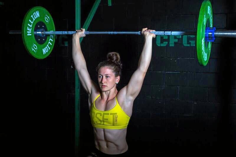 STRONG: Tia-Clair Toomey is a renowned CrossFit and weightlifting athlete.