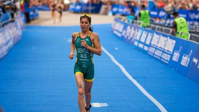 Ashleigh Gentle has won her first World Triathlon Series Race.