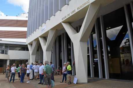 SPACE: The existing council building at Nambour.