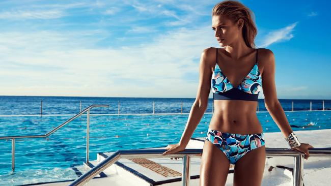 Luxury swimwear brand Bondi Born targeted the overseas market first.