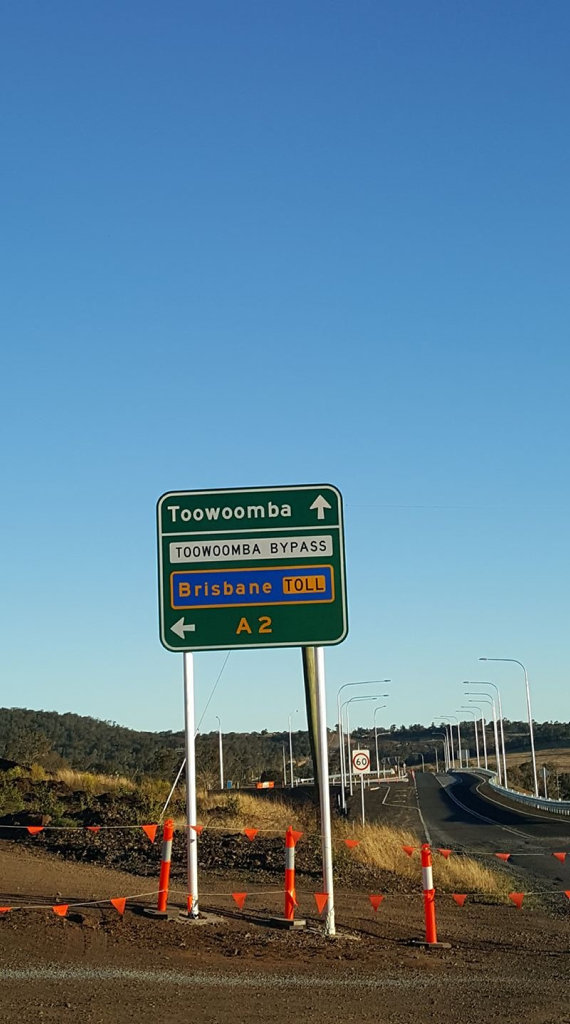 Toowoomba Second Range Crossing was always going to be a toll road.