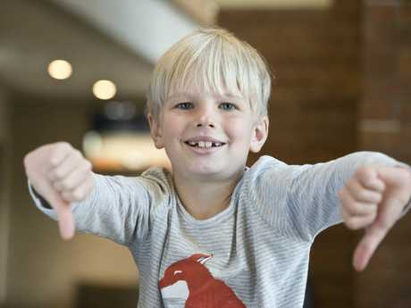 Eddie Pocknee won Year 3 and under Humorous Solo section of the 72nd City of Toowoomba Eisteddfod at Empire Theatres, Monday, August 7, 2017.