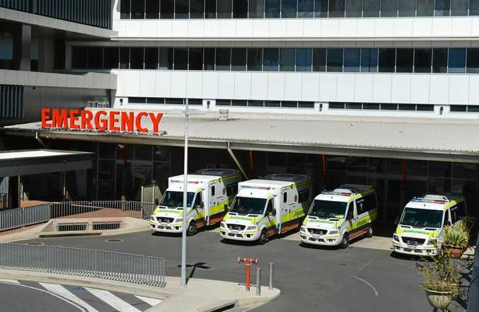 Emergency Department at the Rockhampton Hospital.