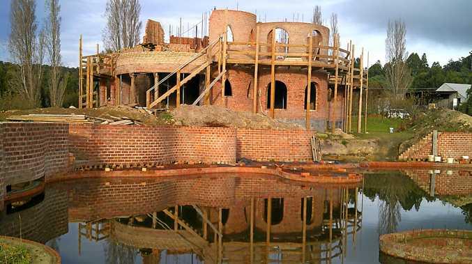 Castle Phoenix is being built in Tasmania by Mackay man Francis Shepherd.