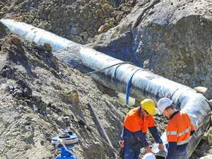 Pipeline, reservoir projects create large amounts of work