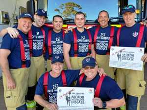 Firies to man the tower for Motor Neurone