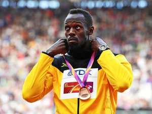 Usain Bolt bristles at journalist's question