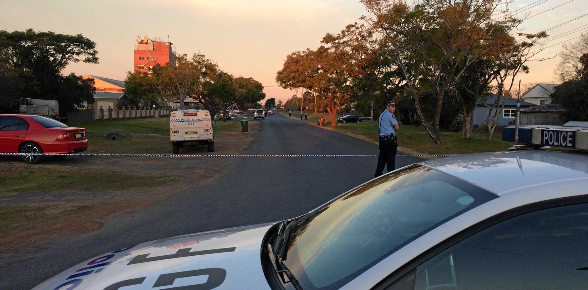 A critical incident investigation was launched after a man was shot during a confrontation with police in North St, Grafton on Sunday, 6th August, 2017.
