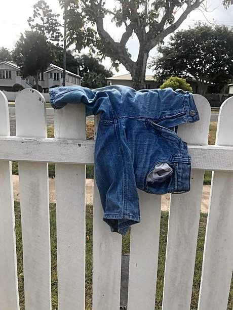 JUSTICE FOR JORTS: Bundaberg's Ryan Pearce would like the owner of a pair of jorts to come forward.