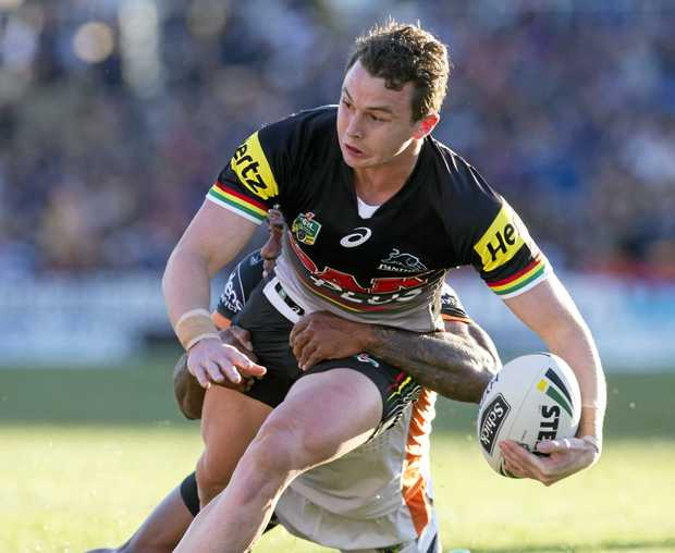 WANTED MAN: Dylan Edwards could soon sign a new deal with the Panthers.