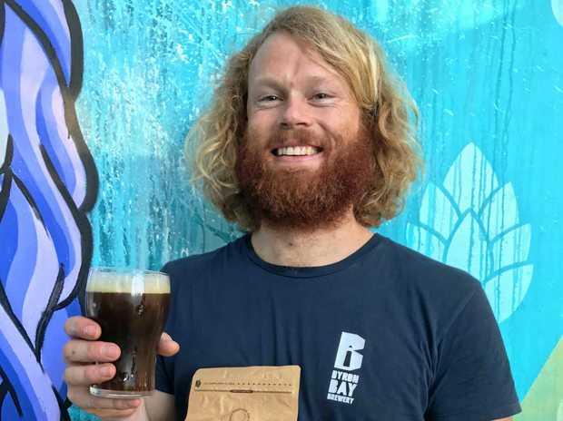 Byron Bay Brewery Head Brewer Alastair Gillespie .