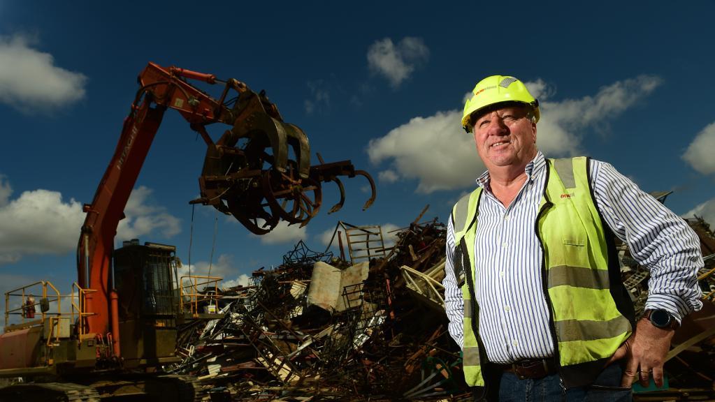 OneSteel North Queensland trading manager Glenn Scoble. Picture: Evan Morgan
