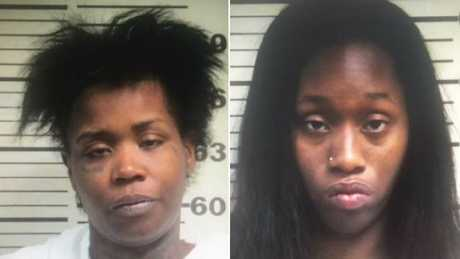 Brittany Curry (left) and Lauteshia Dotson. Picture: Mississippi Co. Sheriff's Department