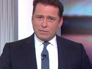 Karl Stefanovic reacts