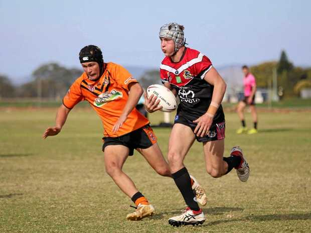 TOUGH LOSS: The Gatton Hawks will play the Souths Tigers again on Wednesday night after their 34-30 loss on Sunday with a finals place on the line.