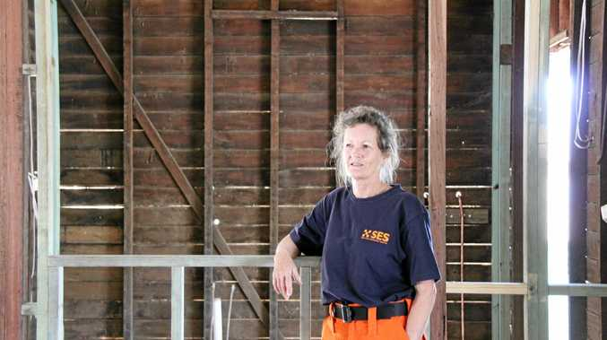 SES SOS: SES Lismore member Kelly Bohn left her home which suffered significant flood damage in order to assist others in the community due to the March floods caused by ex-Cyclone Debbie. Ms Bohn said she is disgusted by the nastiness of people who have blamed the SES for flood damage.
