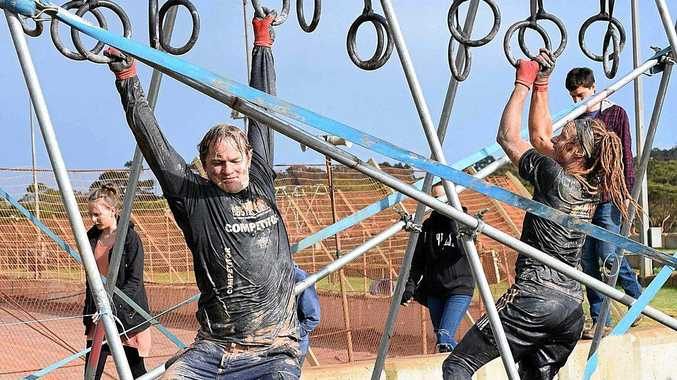 MUD FUN: It's all fun and dirt at Obstacle Hell, which comes to Bundaberg in November.