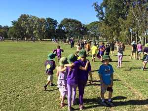 Mini relay helps a good cause