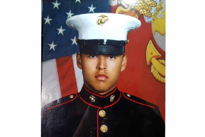 Missing US Marine Ruben Velasco