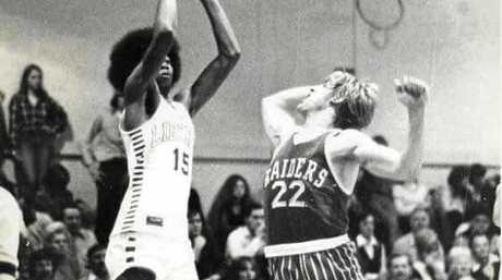 Reggie Biddings was a prolific scorer for Liberty High and later in the Australian NBL.