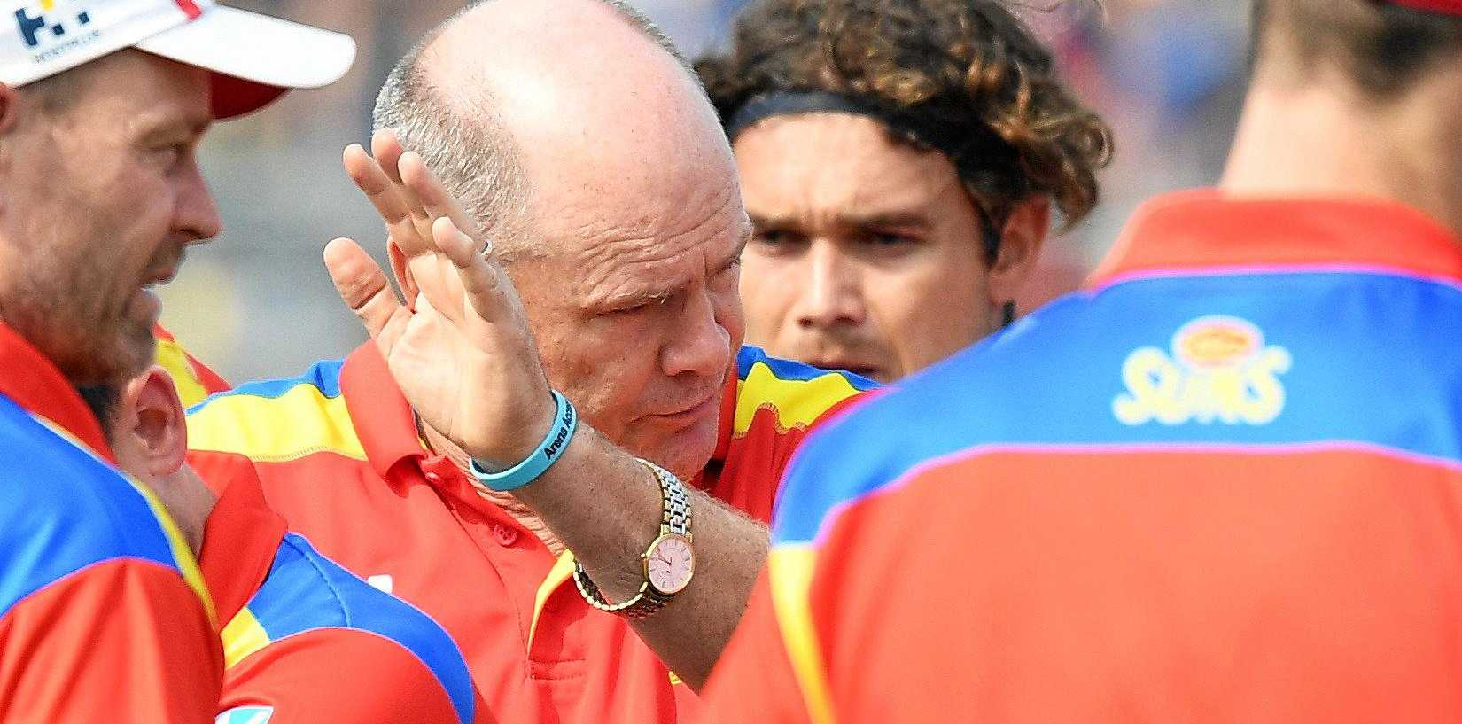 Rodney Eade has coached his last game for the Suns.