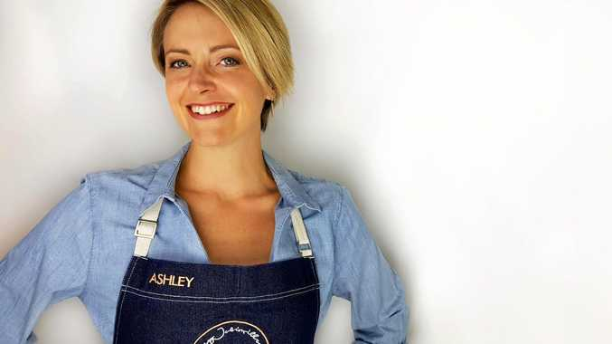 Ashley Jubinville has launched the Cook With Me LIVE program from her Buderim home.