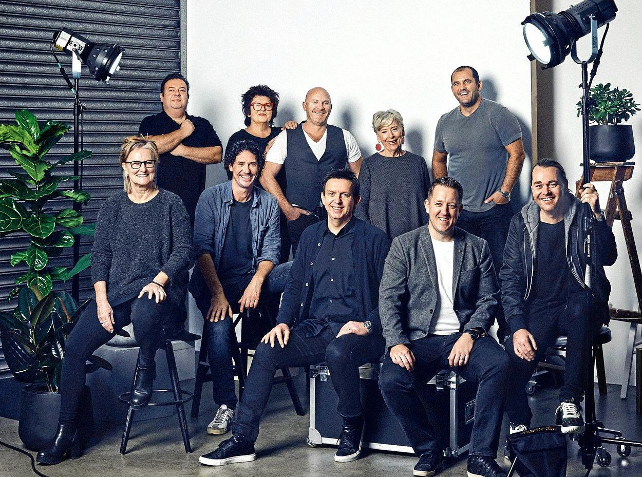 EXPERTS: The Delicious Produce Awards judging panel, which includes Maggie Beer, Matt Moran, Ashley Palmer-Watts, Guillaume Brahimi, Peter Gilmore, Christine Manfield, Alla Wolf-Tasker, Shannon Bennett, Andrew McConnell and Colin Fassnidge.