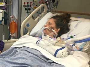 'I woke up and couldn't breathe': Mum's health warning