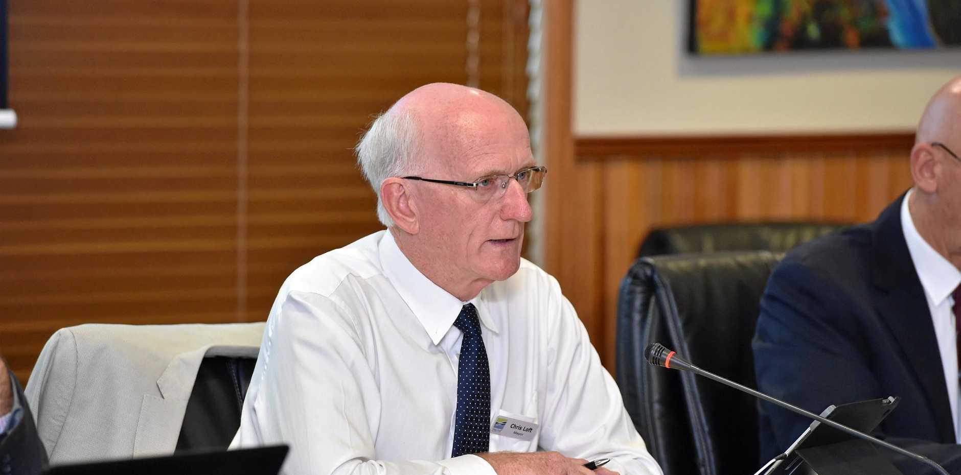Fraser Coast Regional Council - Mayor Chris Loft..