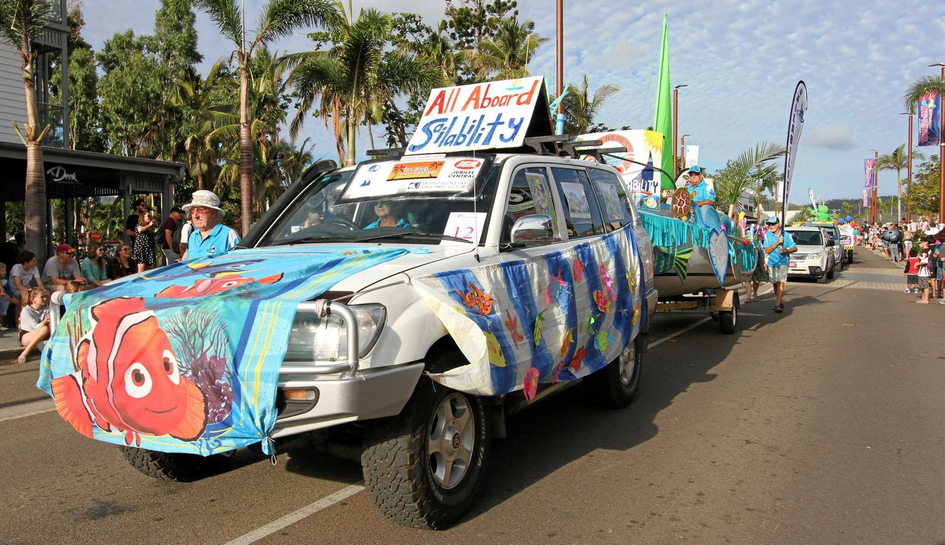 Sailability Whitsunday won the Best Not for Profit category at the 2017 Rotary Street Parade.
