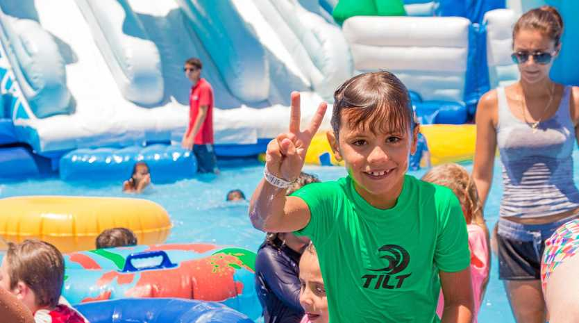 MAKING A SPLASH: Australia's first portable water theme park is coming to the Sunshine Coast.