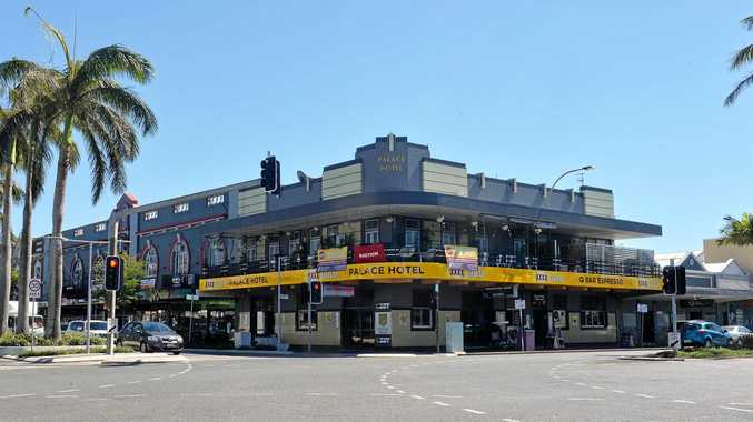 The Palace Hotel, in Mackay's CBD, has been passed in at auction.