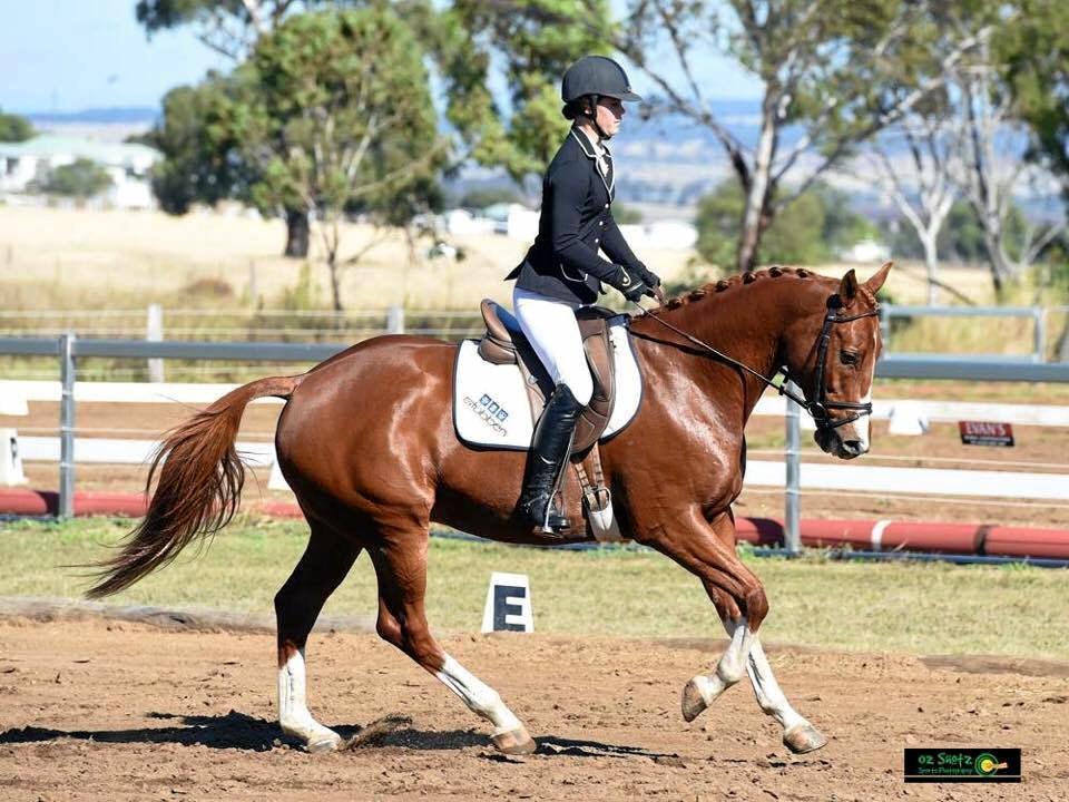NATIONAL RIDER: Maryborough's Madison Hose will contest the Pony Club Australia National Titles next month.